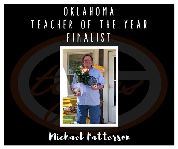 Guymon Teacher Finalist for Oklahoma's next Teacher of the Year.