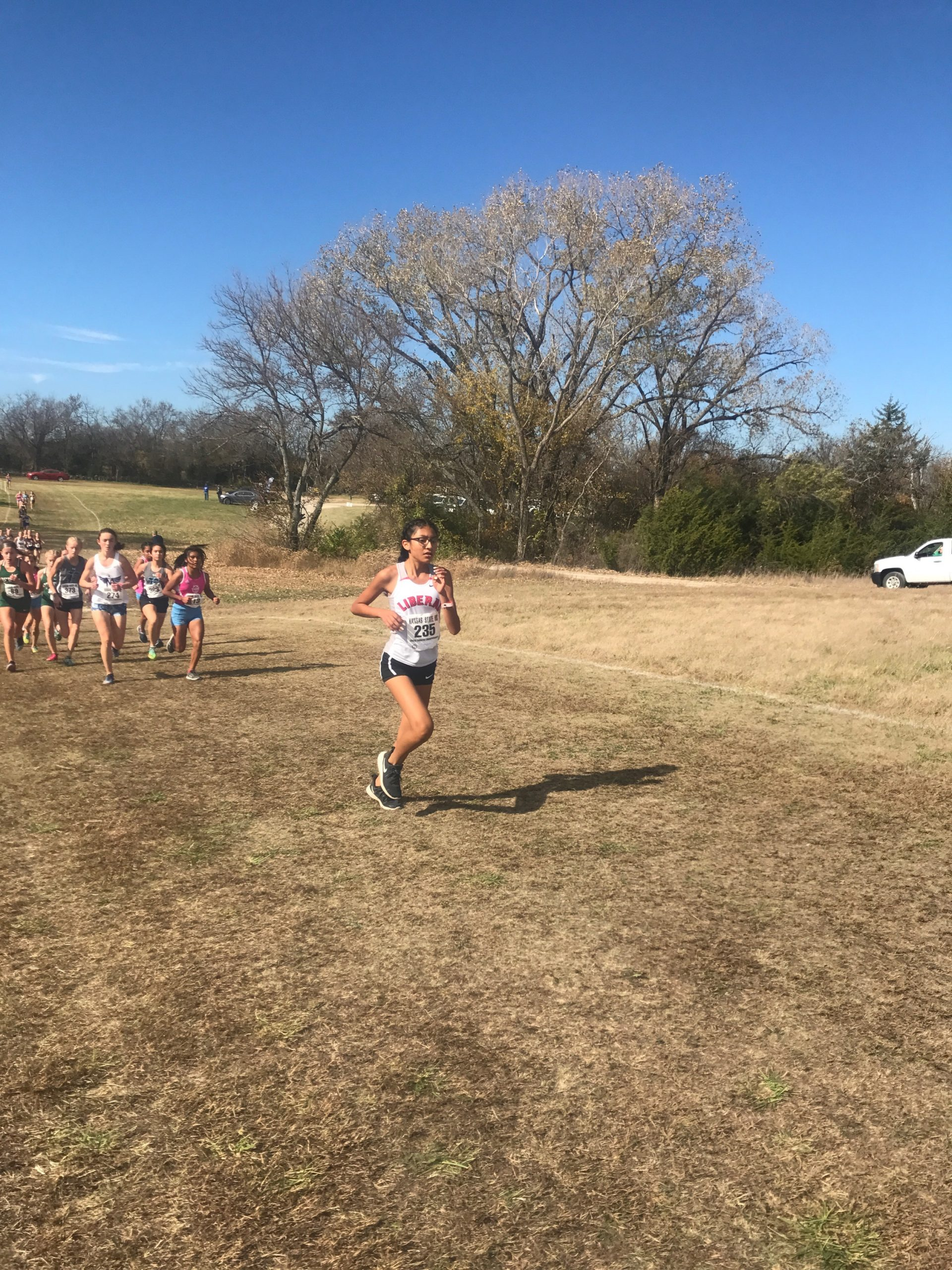Two LHS Girls Run at State