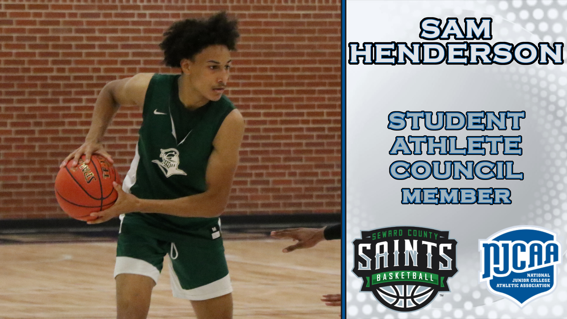 Seward's Henderson Joins NJCAA Student-Athlete Council