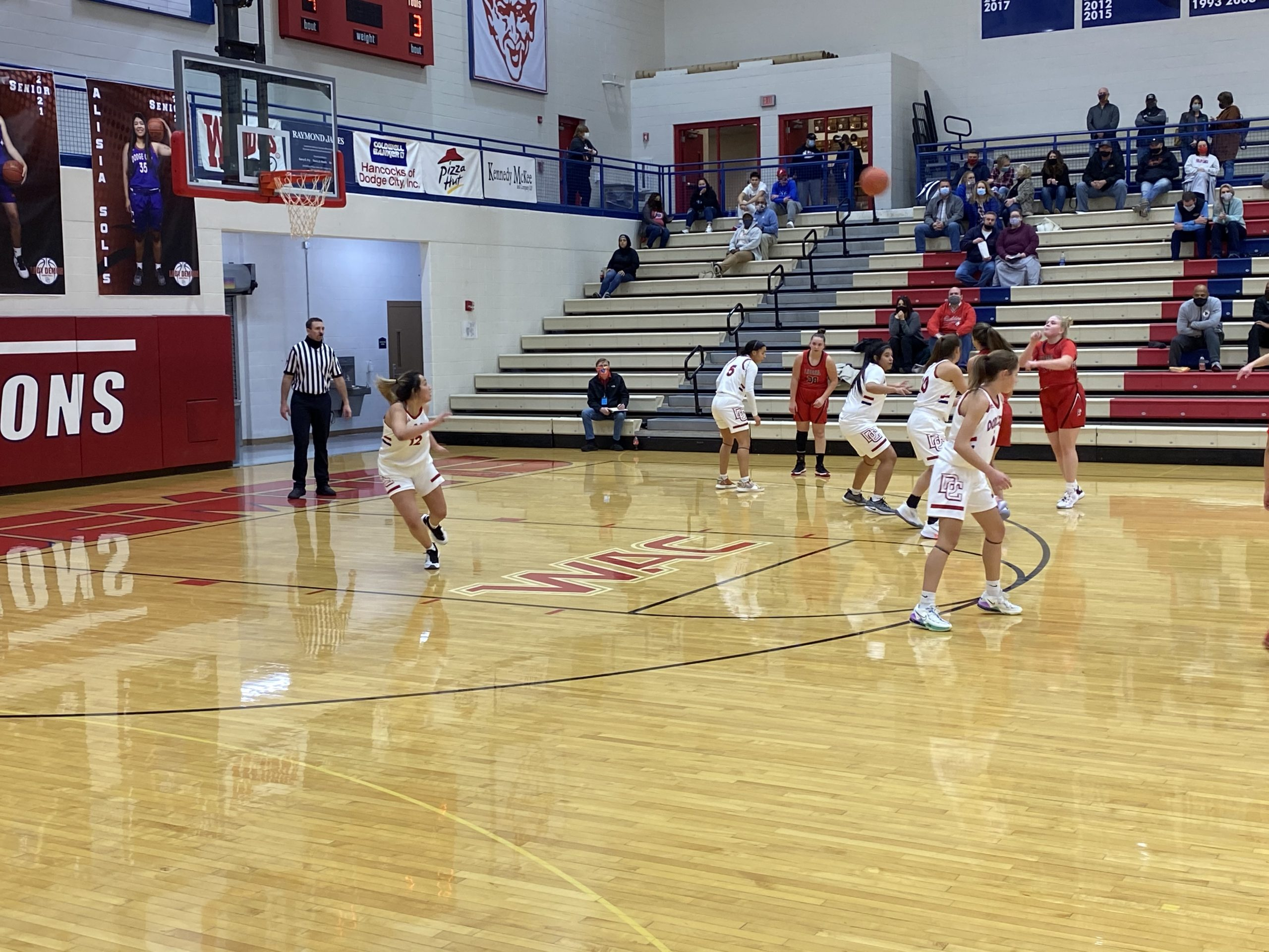 Cold Shooting Night Costly for Lady Redskins