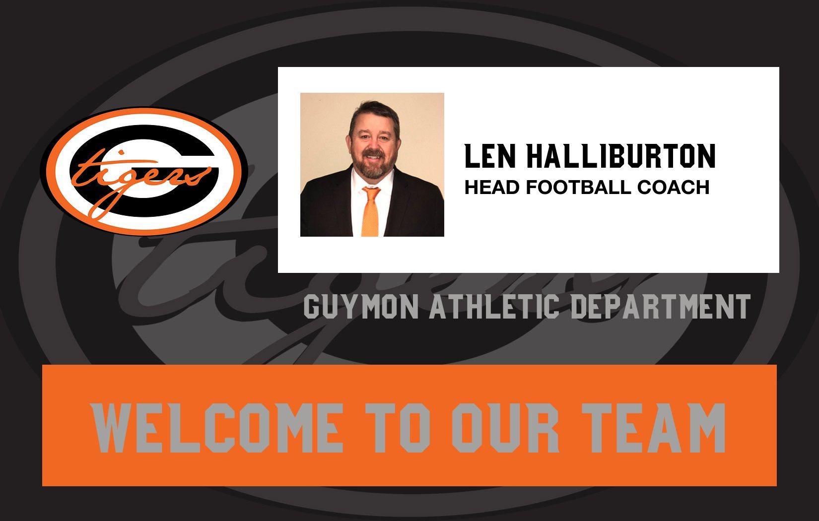 Halliburton Named Guymon Football Coach