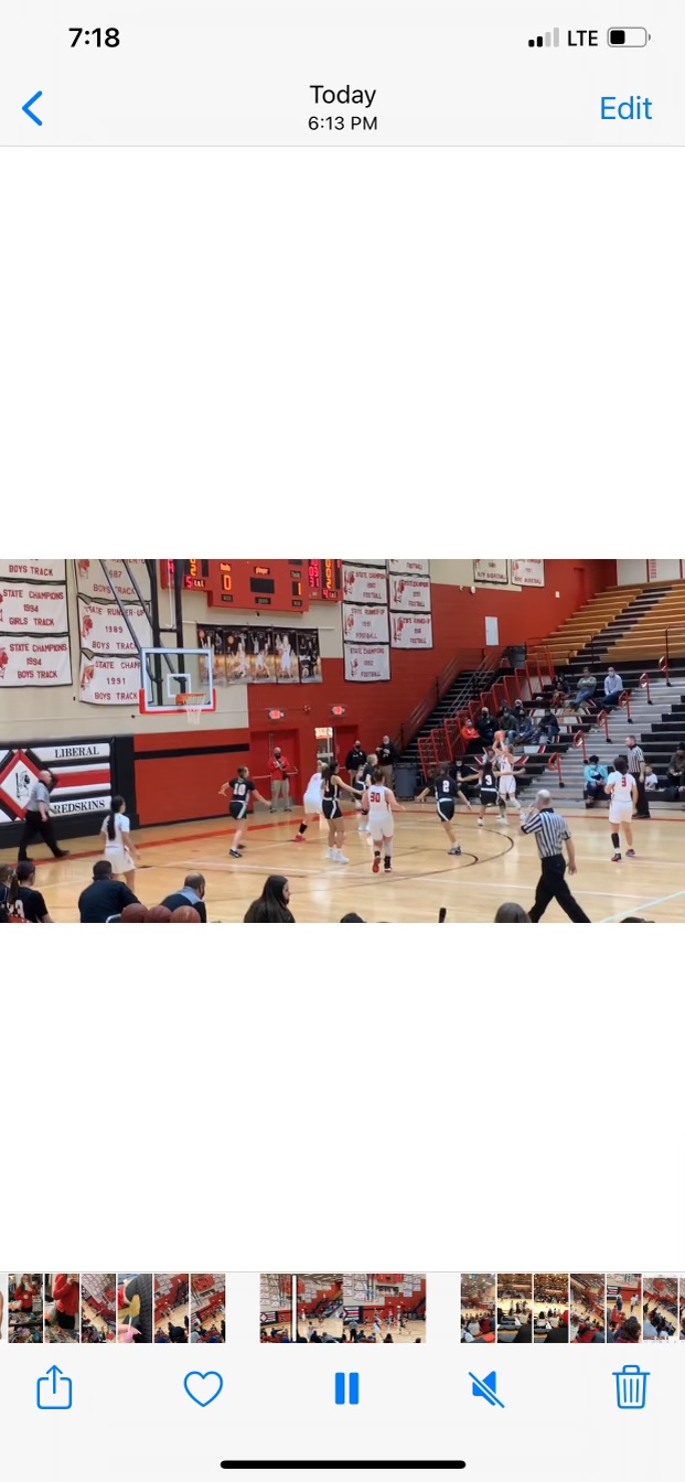 Lady Red Rolls Over Guymon