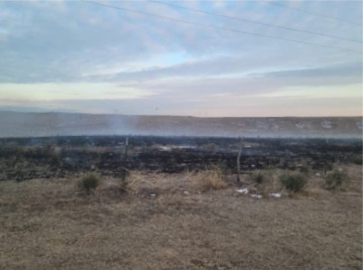 Grass Fire Quickly Extinguished by Seward County Fire