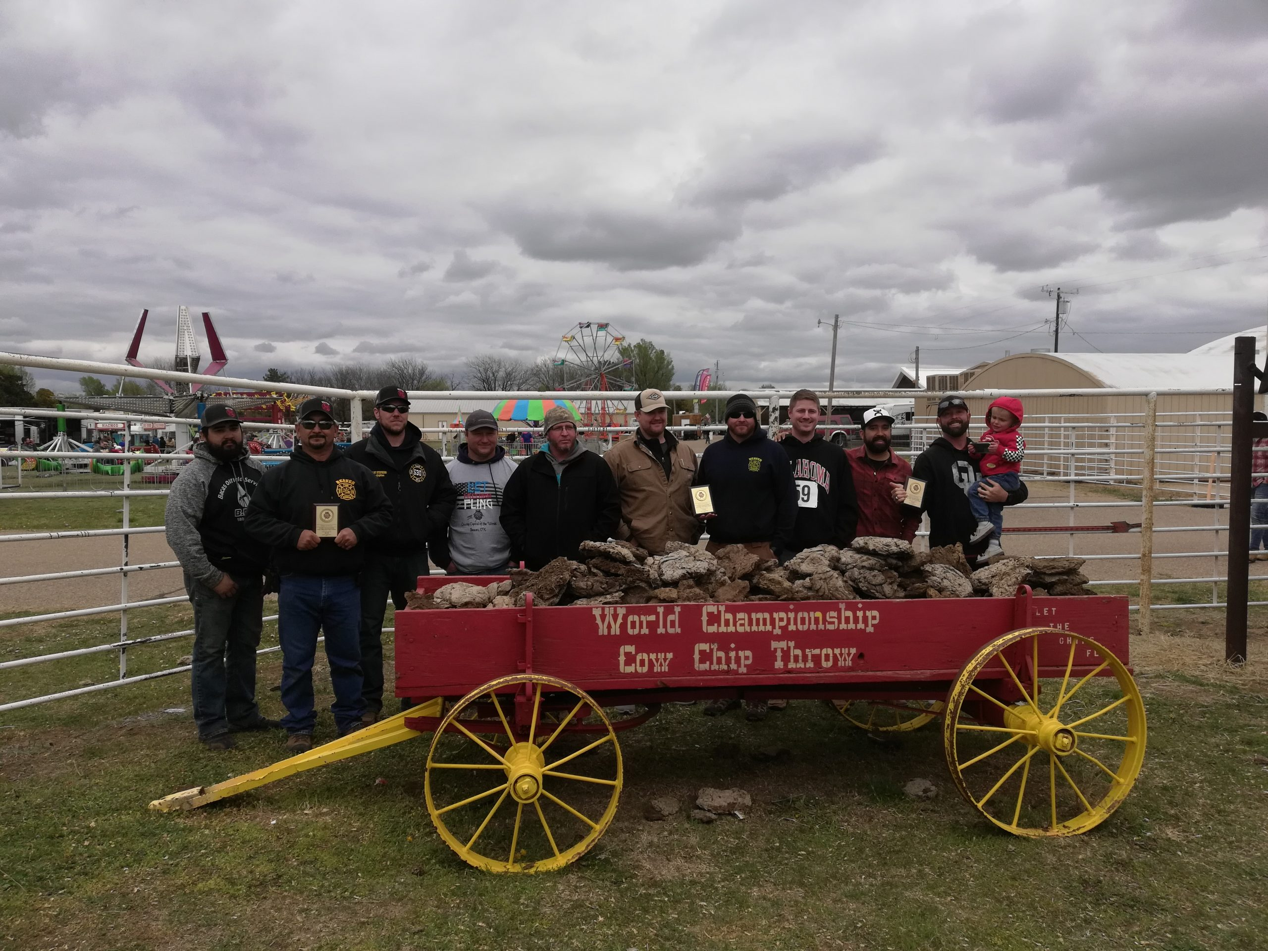 52nd Annual Cow Chip Throw Held in Beaver OK