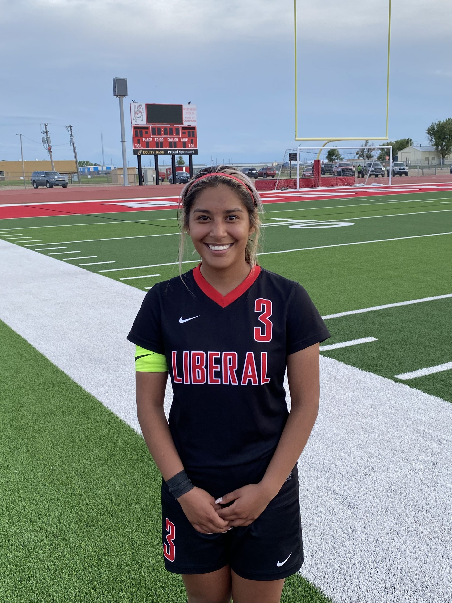 Kenia Martinez is Hay Rice and Associates Athlete of the Week
