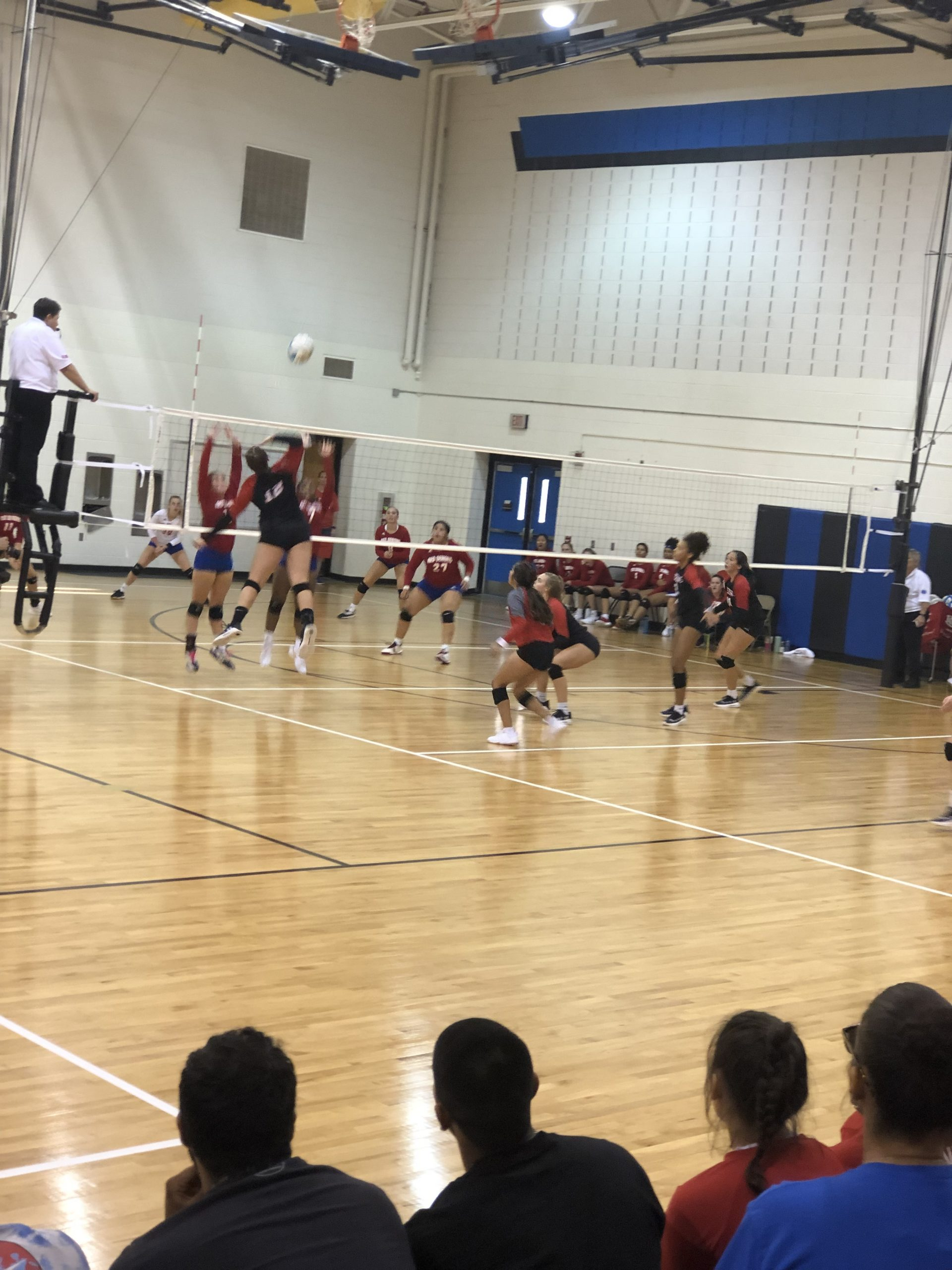 LHS Gains First Volleyball Win