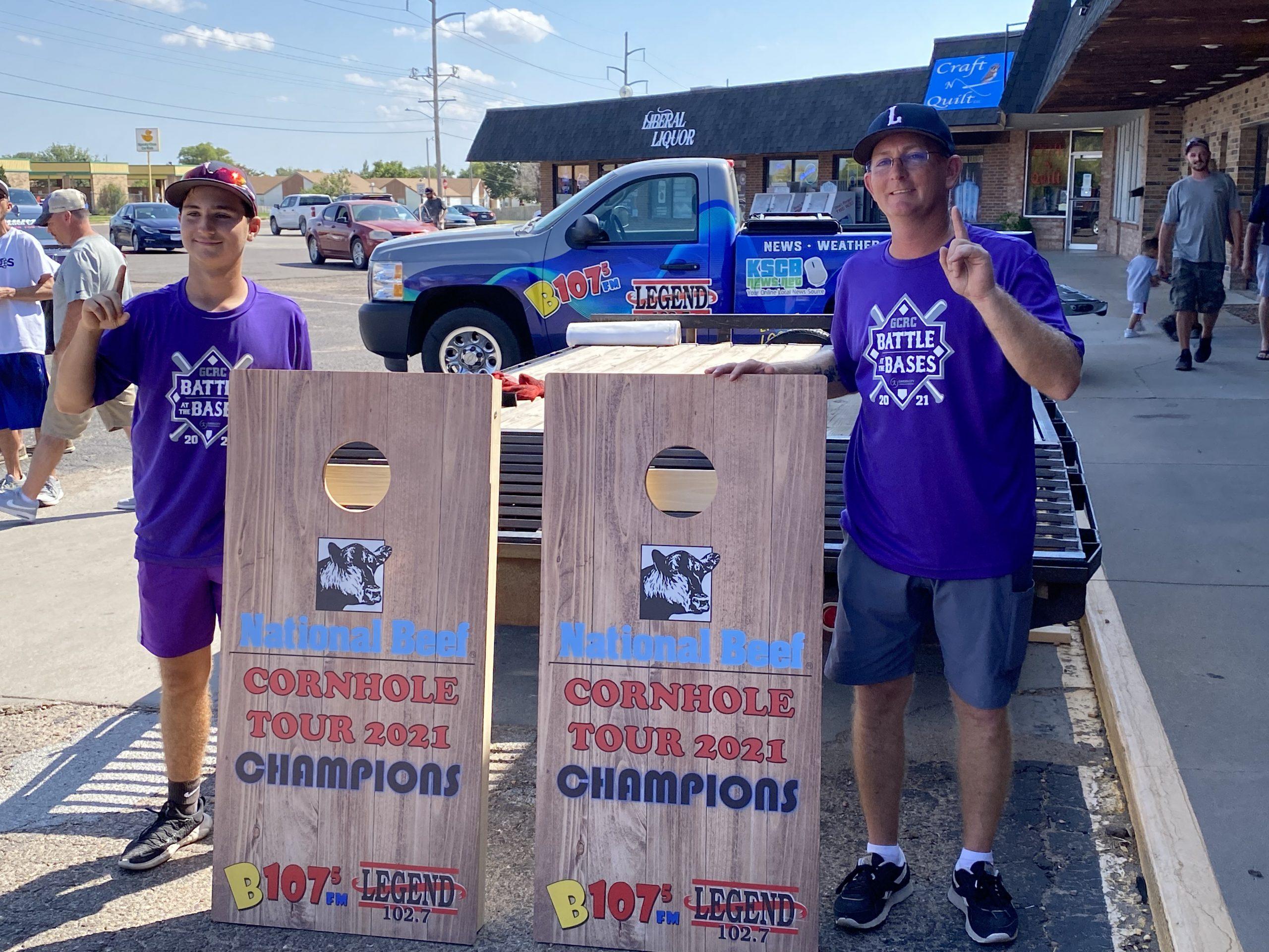 Hubcaps Win National Beef Cornhole Tournament