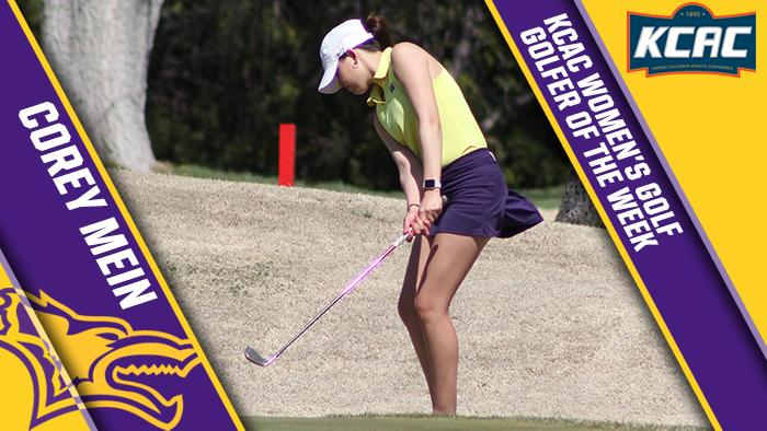 Liberal's Mein KCAC Golfer of the Week