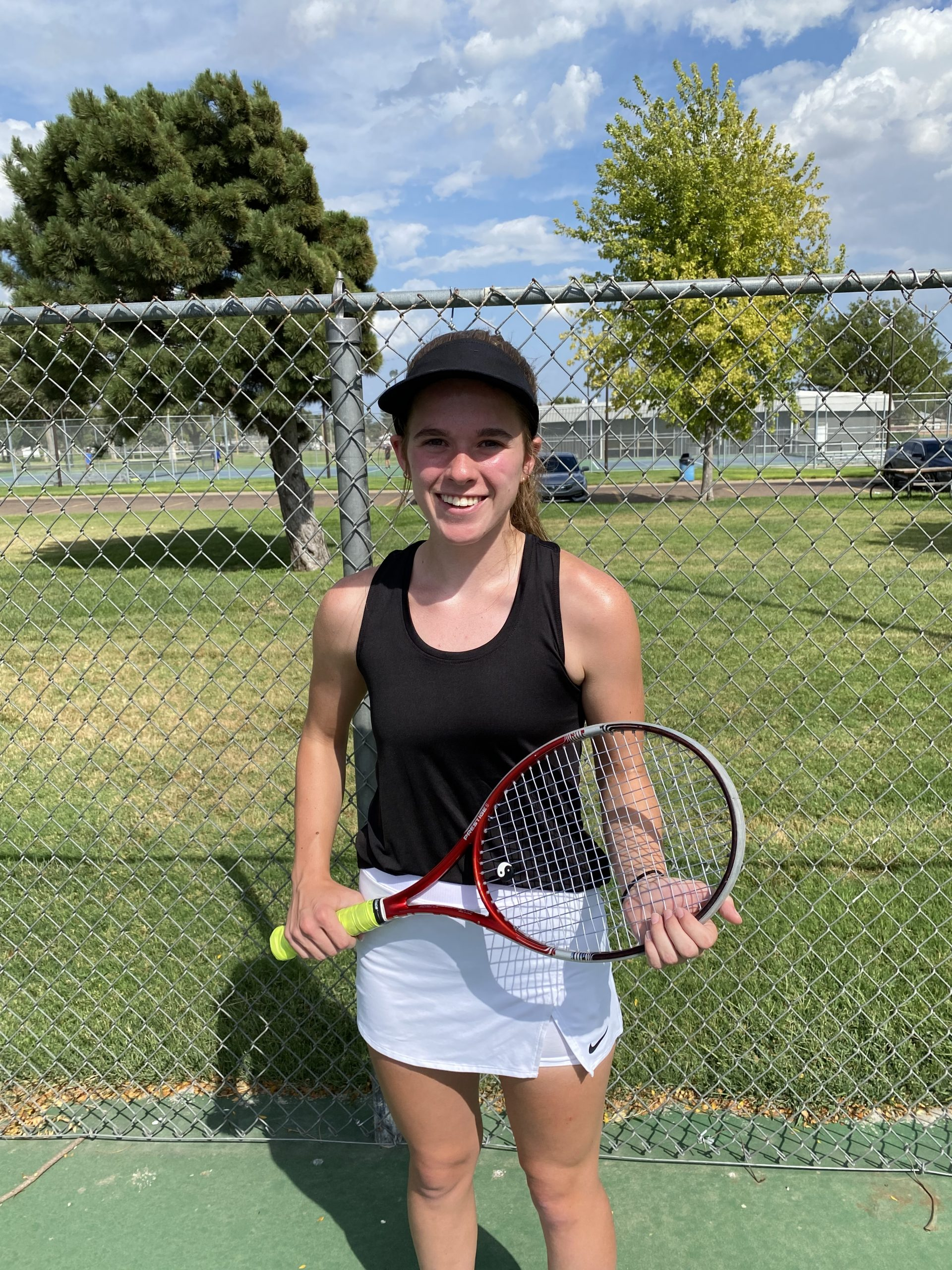 Classen Leads LHS Tennis at Great Bend