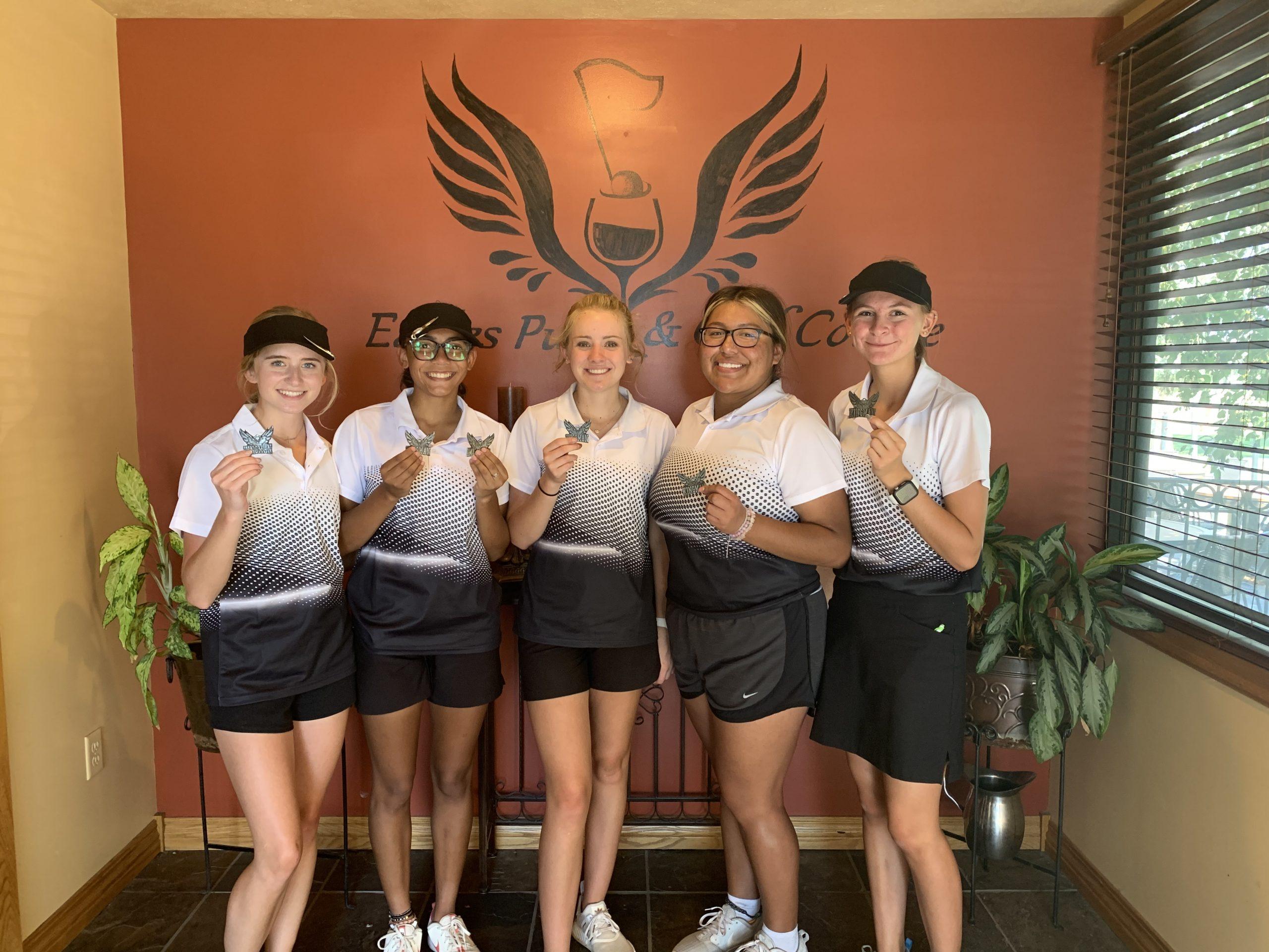 Liberal Girls Golf 2nd at Kingman