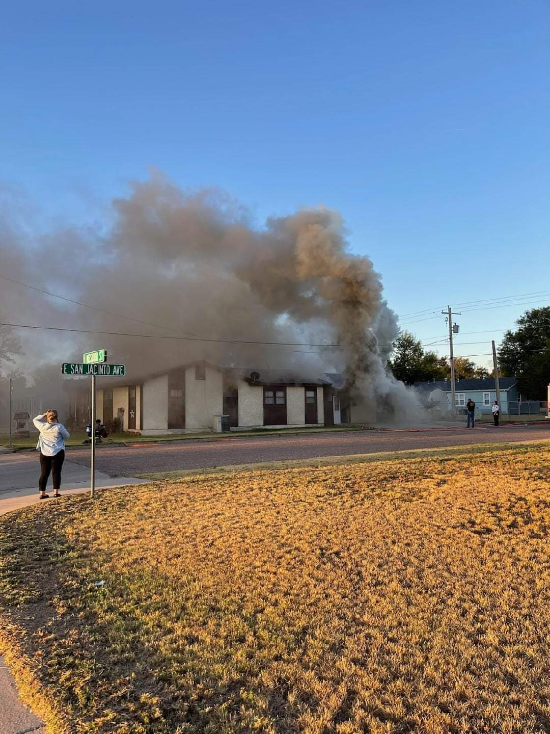 Structure Fire in Ulysses